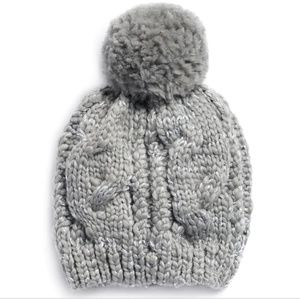 NWT LC Lauren Conrad Cable-Knit Beanie